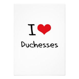 I Love Duchesses Invitation