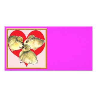 I Love Ducklings! Picture Card