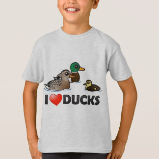 I Love Ducks T-Shirt