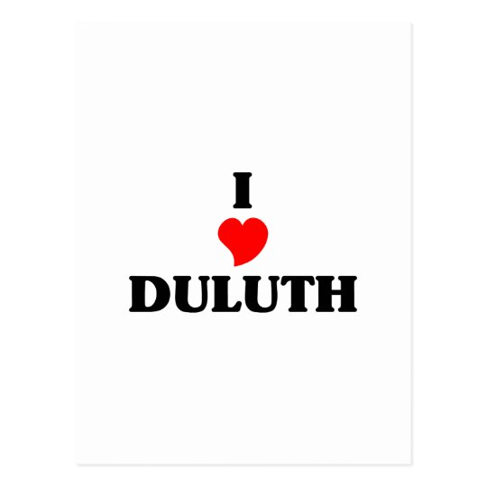 I love Duluth Postcard
