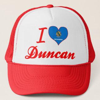 I Love Duncan, Oklahoma Trucker Hat
