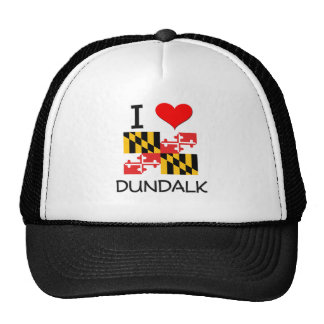 I Love Dundalk Maryland Trucker Hat