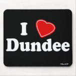 I Love Dundee Mouse Mats