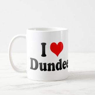 I Love Dundee, United Kingdom Basic White Mug