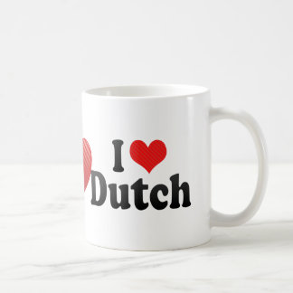 I Love Dutch Coffee Mug