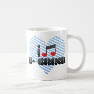 I Love E- Grind Mug