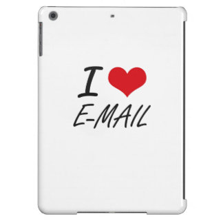 I love E-MAIL iPad Air Cover