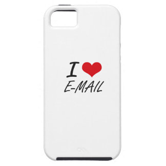 I love E-MAIL iPhone 5 Cases
