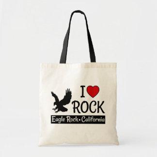 I Love Eagle Rock, California Heart Tote Bag