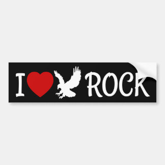 I Love Eagle Rock Heart Bumper Sticker