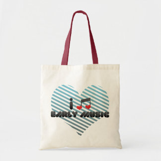 I Love Early Music Budget Tote Bag