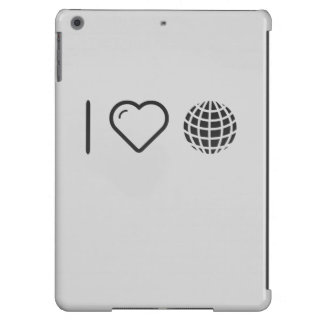 I Love Earth Fashions Cover For iPad Air