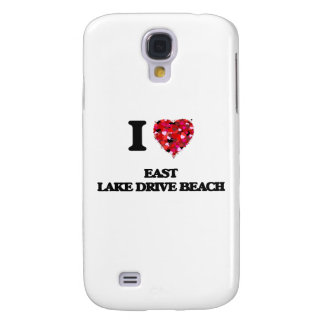 I love East Lake Drive Beach New York Galaxy S4 Case