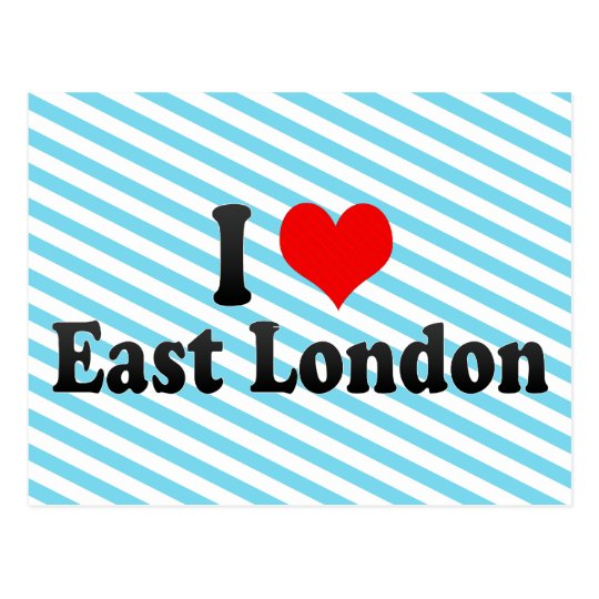 I Love East London, South Africa Postcard