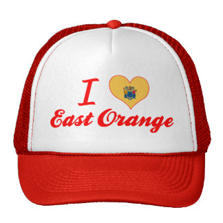 I Love East Orange, New Jersey Hat