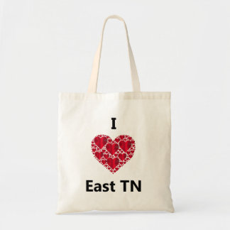 I Love East Tennessee Tote Bag