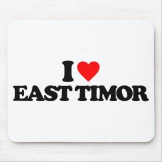 I LOVE EAST TIMOR MOUSEPADS