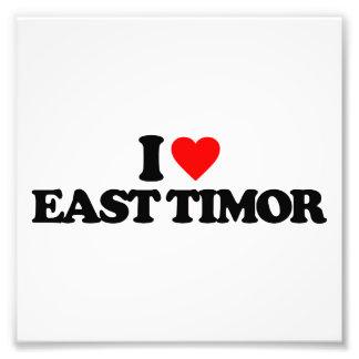 I LOVE EAST TIMOR PHOTO PRINT