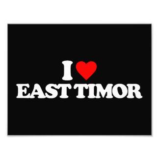 I LOVE EAST TIMOR PHOTOGRAPH