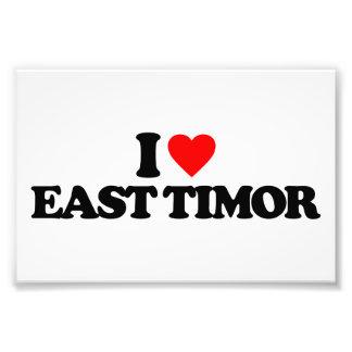 I LOVE EAST TIMOR PHOTO ART