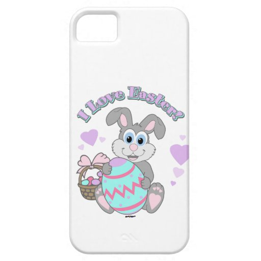 I Love Easter! Easter Bunny iPhone 5 Cases