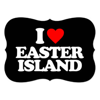 I LOVE EASTER ISLAND CARDS