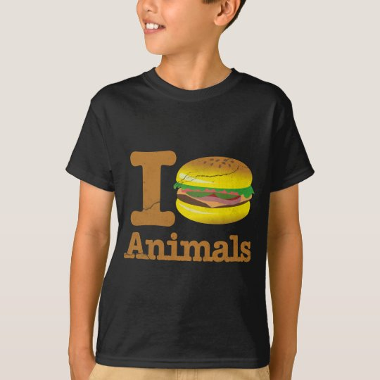 I Love Eat Animals T-Shirt