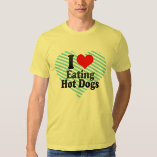 I love Eating Hot Dogs Shirt
