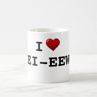 I Love Echo Whiskey Coffee Mug