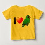 I Love Eclectus Parrots (male) T-shirts