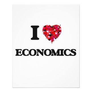 I love ECONOMICS 11.5 Cm X 14 Cm Flyer