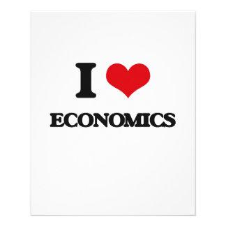 I love ECONOMICS Flyers