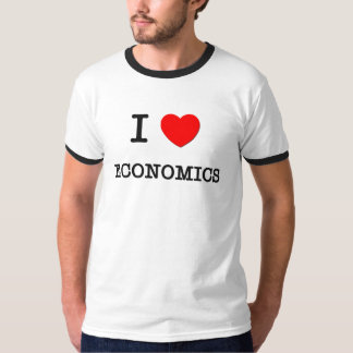 I Love ECONOMICS Shirt