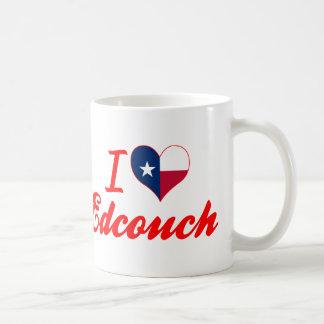 I Love Edcouch, Texas Basic White Mug