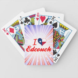 I Love Edcouch, Texas Bicycle Card Deck