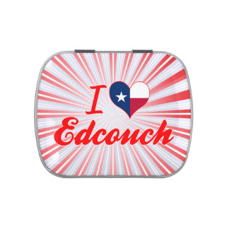 I Love Edcouch, Texas Candy Tins