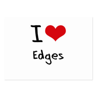 I love Edges Business Card