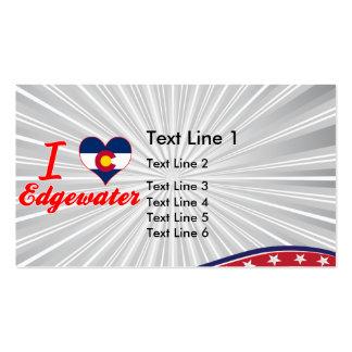 I Love Edgewater, Colorado Business Card Templates