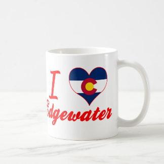 I Love Edgewater, Colorado Coffee Mugs