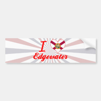 I Love Edgewater, Florida Bumper Sticker