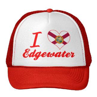 I Love Edgewater, Florida Hat