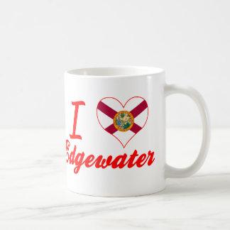 I Love Edgewater, Florida Mugs