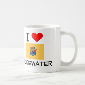 I Love Edgewater New Jersey Coffee Mugs