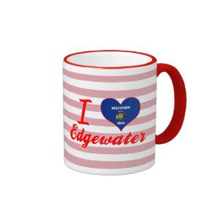 I Love Edgewater, Wisconsin Mug