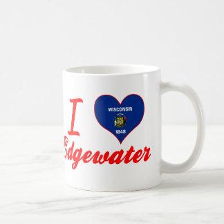 I Love Edgewater, Wisconsin Mugs