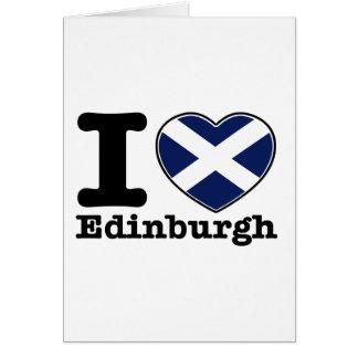 I love Edinburgh Card