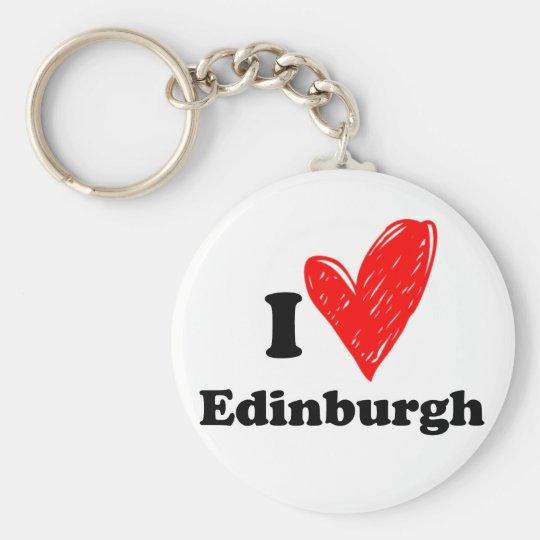 I love Edinburgh Key Ring