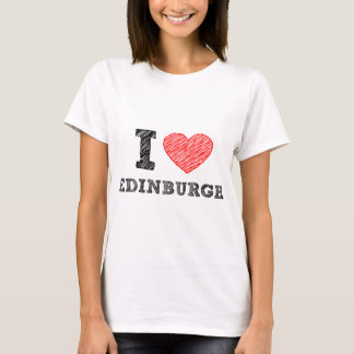 I-love-Edinburgh T-Shirt