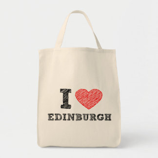 I-love-Edinburgh Tote Bag