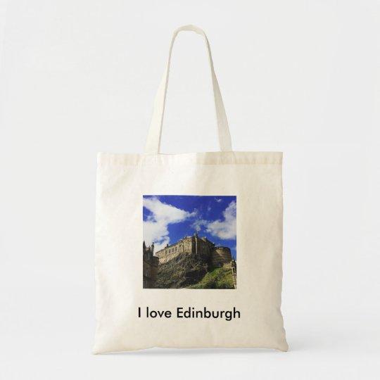I Love Edinburgh tote bag